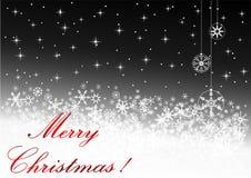 Illustration of a  Christmas background Stock Photo