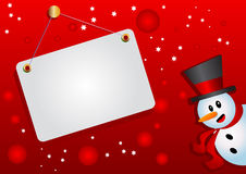 Illustration of christmas background Royalty Free Stock Photos