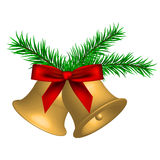 Illustration of christmas bells Royalty Free Stock Image