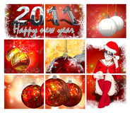 Illustration of Christmas Card Royalty Free Stock Images