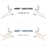 Illustration, Christmas card Stock Photos