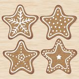 Illustration of Christmas cookies Royalty Free Stock Photo