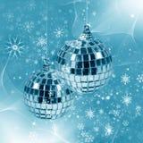 Illustration with christmas decor royalty free stock image