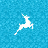Illustration of Christmas deer Royalty Free Stock Photos