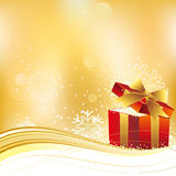 illustration of christmas gift Royalty Free Stock Photo