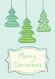 Illustration Christmas tree Stock Photos