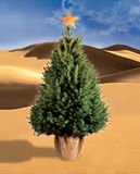 Illustration of a Christmas tree Royalty Free Stock Photography