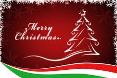 Illustration christmas tree Royalty Free Stock Image