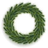 Illustration of Christmas wreath Royalty Free Stock Photography