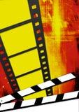 Illustration on the cinema theme Royalty Free Stock Images