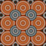 A illustration circle background. A illustration based on aboriginal style of dot painting depicting circle background 2 Stock Photos