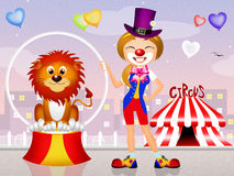 Illustration of circus Stock Photo