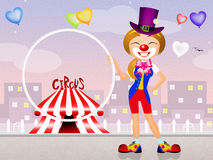Illustration of circus Stock Image
