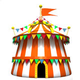 Illustration of a circus tent Stock Images