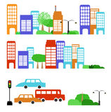 City street Royalty Free Stock Images