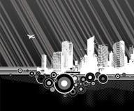 Illustration of city. Vector Stock Photos