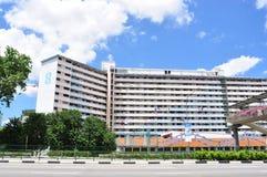 Illustration claire gentille des appartements de Singapour HDB Image libre de droits