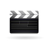 Illustration of clapboard Royalty Free Stock Images