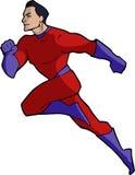 Illustration of a classic superhero Stock Photography