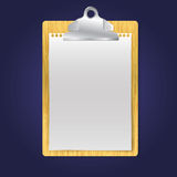 Illustration of clipboard Royalty Free Stock Photography