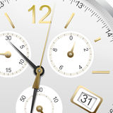 An illustration of a clock Royalty Free Stock Photos