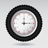 Illustration of a clock Stock Photography