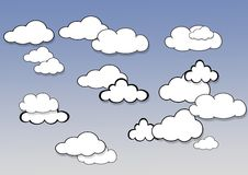 Clouds. Stock Photo