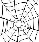 Illustration of cobweb Stock Images
