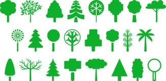 Trees illustration Royalty Free Stock Photos