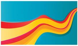 Illustration colorée chaude Photographie stock