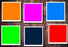 illustration colorée de trames Photos libres de droits
