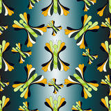 Illustration colorée de vecteur de fond de papillon Photo libre de droits