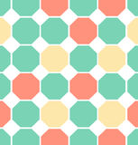 Illustration colored polygon seamless pattern. Vector illustration of colored polygon seamless pattern Stock Photography