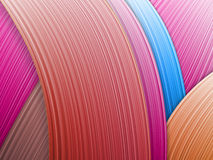 Illustration of colorful abstract background closeup Stock Images