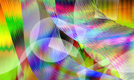 Illustration of colorful abstract background closeup Stock Image