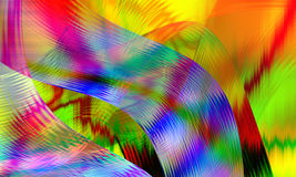 Illustration of colorful abstract background closeup Royalty Free Stock Images