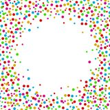 Colorful abstract dot background with space for text. Illustration of Colorful abstract dot background with space for text Stock Image