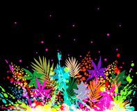 Illustration of colorful background Royalty Free Stock Photo