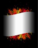 Illustration of colorful background Royalty Free Stock Image