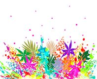 Illustration of colorful background Royalty Free Stock Images