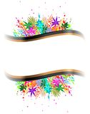 Illustration of colorful background Stock Photography