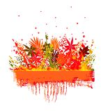 Illustration of colorful background Stock Image