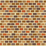 Illustration  of an colorful Bricks Wall Background Royalty Free Stock Images
