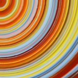 Illustration of colorful circles. Stock Photos