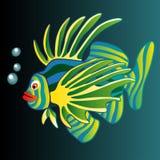 Illustration. Colorful Fish. Royalty Free Stock Image