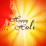 Illustration of colorful Happy Holi background Royalty Free Stock Image