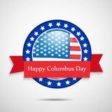Illustration of Columbus Day Background Royalty Free Stock Photo