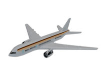 Illustration of commercial airliner Stock Image