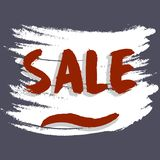 Illustration commerciale eps10 de vecteur de conception d'achat d'affaires de fond d'arc de vente illustration de vecteur