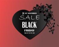 Illustration commerciale eps10 de vecteur de conception de vendredi de vente de fond d'achat noir d'affaires Photo stock